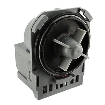 Spares2go Askoll Tipo bomba de desagüe para lavadoras Electrolux ...