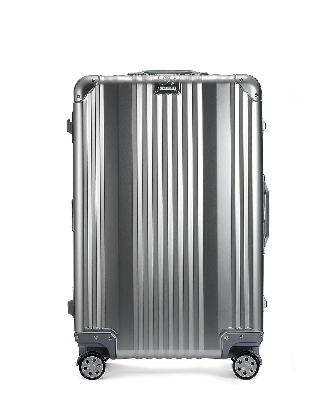 [レジェンドウォーカー] スーツケース 機内持込可 保証付 36L 48cm 4kg 1510-48 B01NBLY4SFシルバー