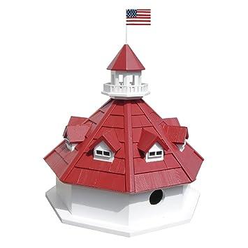 Amazoncom Annapolis Lighthouse Birdhouse Bird Houses Patio