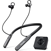 TOKSEL Wireless Headphones for TV Watching w/Bluetooth Transmitter, Support Optical Digital RCA 3.5mm AUX Audio Out…