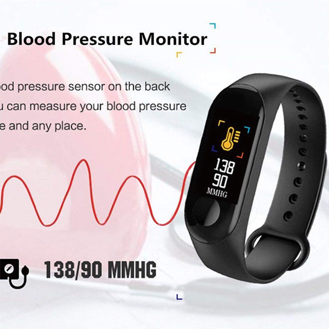 Amazon.com : GeTuo Smart Watch - Touch Screen Bluetooth Smart Watch Smartwatch Phone Fitness Tracker Camera Pedometer Compatible Samsung LG Android Men ...