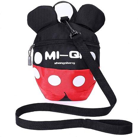 Mochila infantil con riendas, mochila antipérdida, con arnés de ...