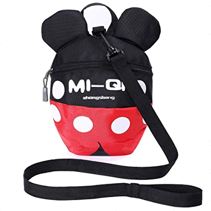 Kid Baby Safety Harness Backpack Leash Child Toddler Anti-lost Dinosaur Bag WO