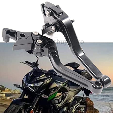 Amazon.com: Motorcycle Brake Clutch Levers Set For Kawasaki ...