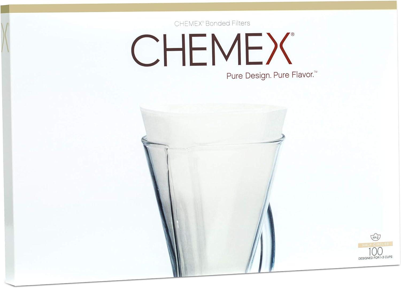 Chemex FP-2 - Papel de Filtro (100 Unidades): Amazon.es: Hogar