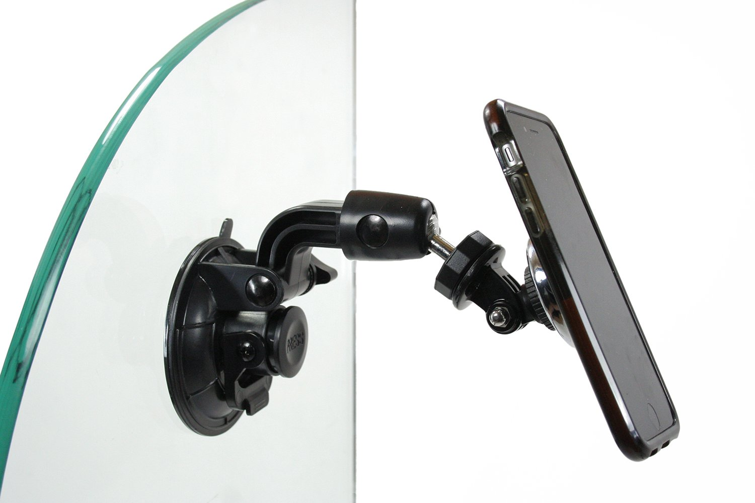 Livestream Gear Strong Hold Easily attach a Phone to Glass Surfaces via Magnetic Mount and Metallic Plates 603 Universal Magnetic Phone Mount and Suction Cup Mount for Glass//Windshield Cellfy Inc