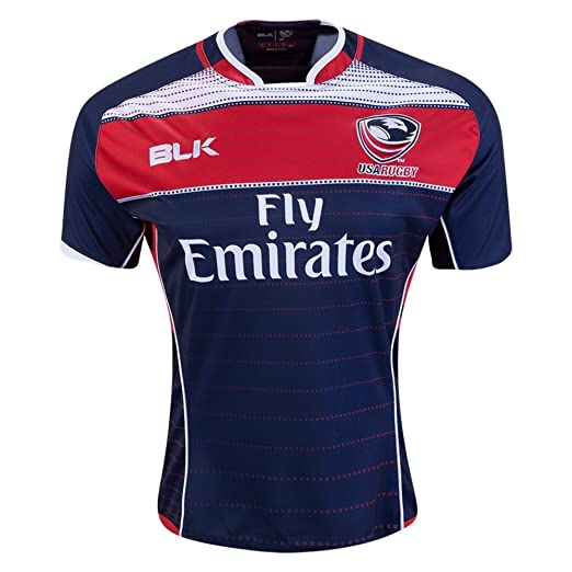 blk USA Rugby Home Jersey - 2016