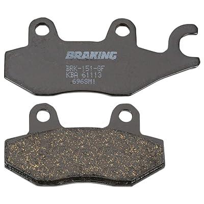 05-10 TRIUMPH SPD-TRIPLE: Braking SM1 Semi-Metallic Brake Pads - Rear: Automotive