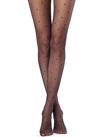755730da0cd03 Calzedonia Womens Dotted Argyle Tights: Amazon.co.uk: Clothing