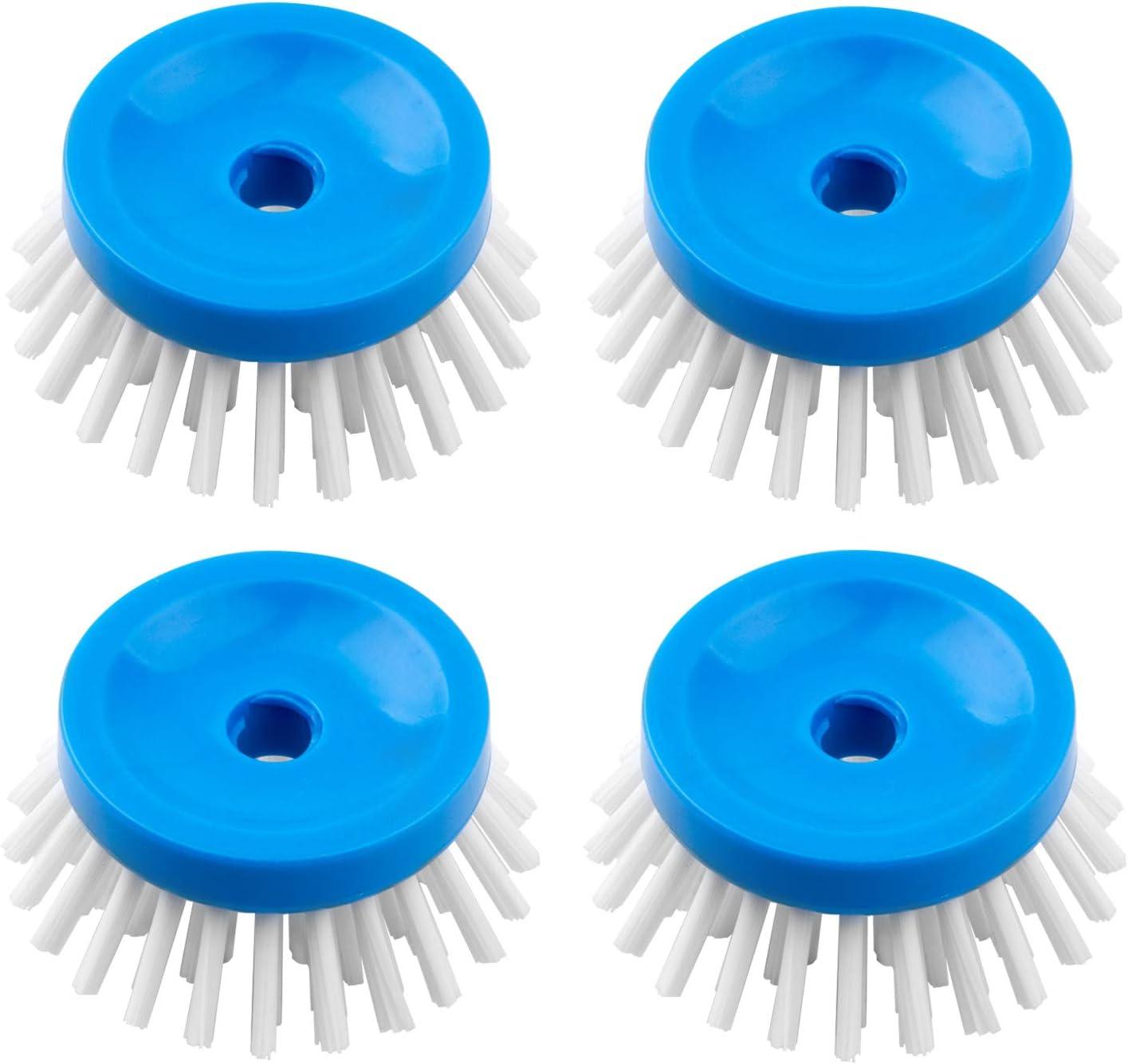 MR.SIGA Soap Dispensing Palm Brush Refill, Pack of 4