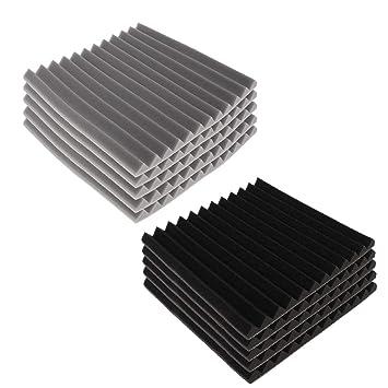 SM SunniMix 10pcs Paneles Acústicos de Prueba de Sonido Acústico Sistemas de Escenario Megafonía: Amazon.es: Instrumentos musicales
