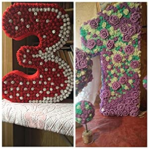 Artificial flowers Rose wedding decorations party Flower Bouquet Solid DIY wreath Craft fake flowers 288pcs/lot 3CM 4