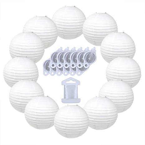 Amazon.com: Just Artifacts linternas redondas decorativas ...