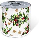 Christmas Designer Toilet Paper Holly All Over