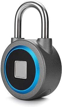 Vorhängeschloss Türschloss Fingerabdruck Passwort Keyless Home Security