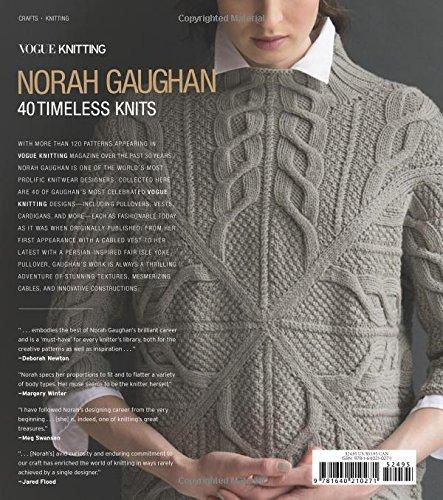 Vogue Knitting: Norah Gaughan: 40 Timeless Knits