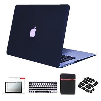 Se7enline Macbook Pro 13 Case Cover [5 in 1 Bundle] Multi colors ...