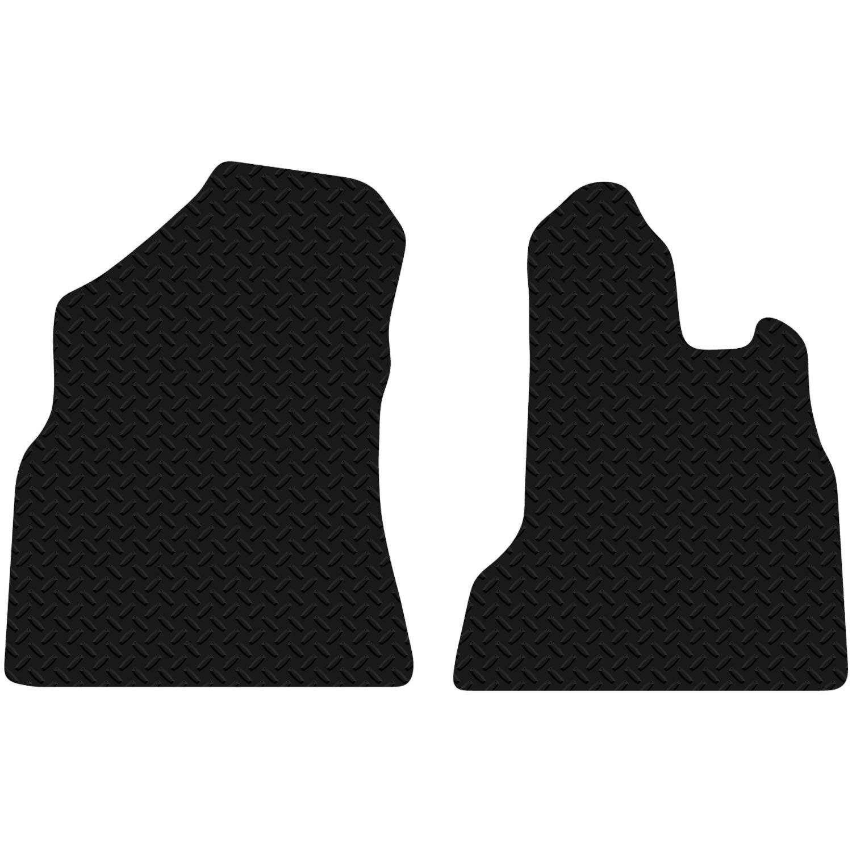 Citroen Berlingo 2008-2014 Black Floor Rubber Fully Tailored Car Mat 3mm 4pc Set Carsio