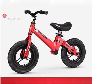 PING Pedaliera per Bambini in Lega di magnesio Schiuma Ruota Yo Auto Bambino Scooter Bambini Equilibrio Auto Scooter 1-3-6 Anni,Red
