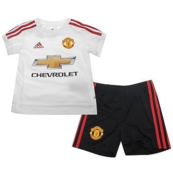 Manchester United FC Baby Football Kit Away Short Sleeve Shirt   Shorts  Adidas (6- 82d50438a