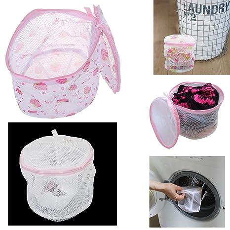 Amazon.com: 2 sujetador bolsa de lavado de lavandería ropa ...