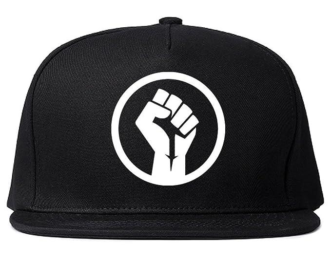 d805c445c74 Kings Of NY Black Power Fist Snapback Hat Cap Black at Amazon Men s  Clothing store