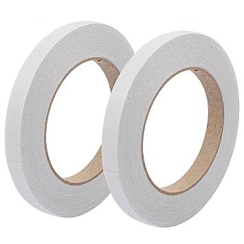 Klebeband doppelseitig band Montageband stark klebend weiß 1-8cm Breite 10m lang