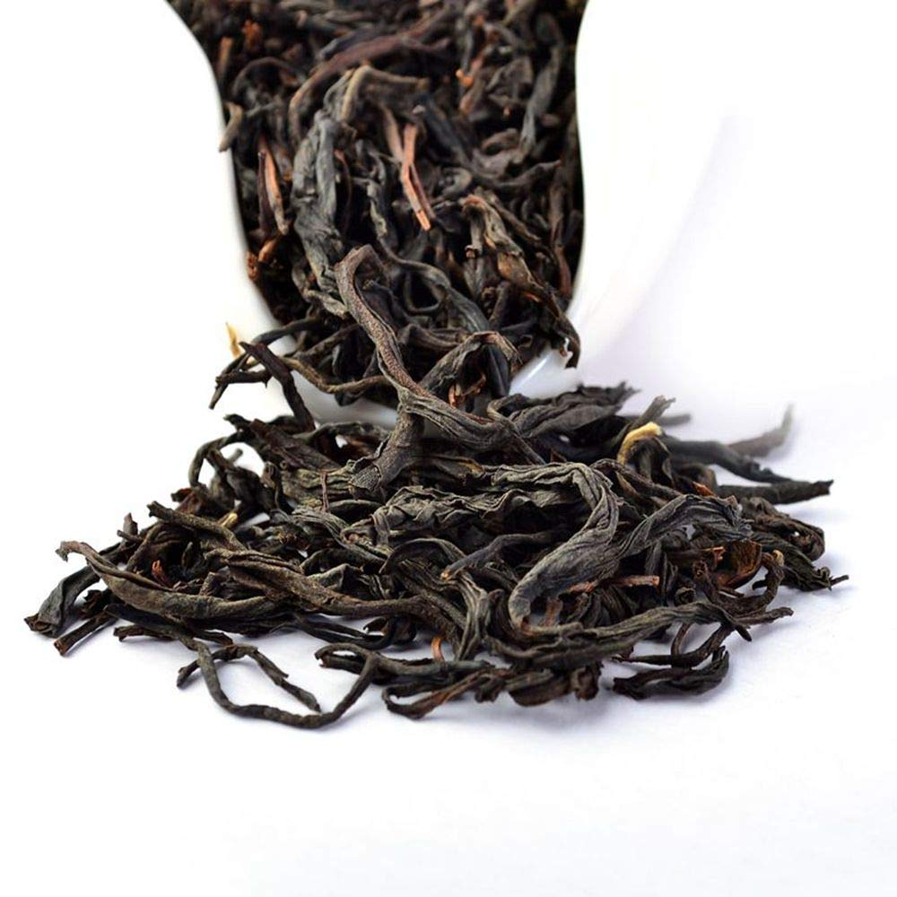Yan Hou Tang - Organic Taiwan Unique Oolong Black Tea Full Loose Leaf Alpine High Mountain Wulong Grown Honey Flavor Half Fermented Caffeine Medium US FDA SGS Verified 75g