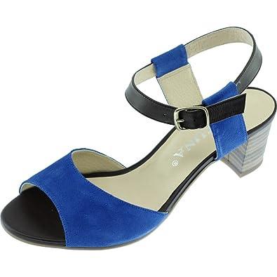 nouvelle arrivee gamme complète de spécifications fournir un grand choix de Angelina® Gabie Sandales Talon Carré Chaussure Petite ...
