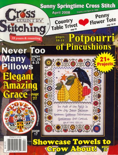 (Cross Country Stitching, April 2008 Issue)