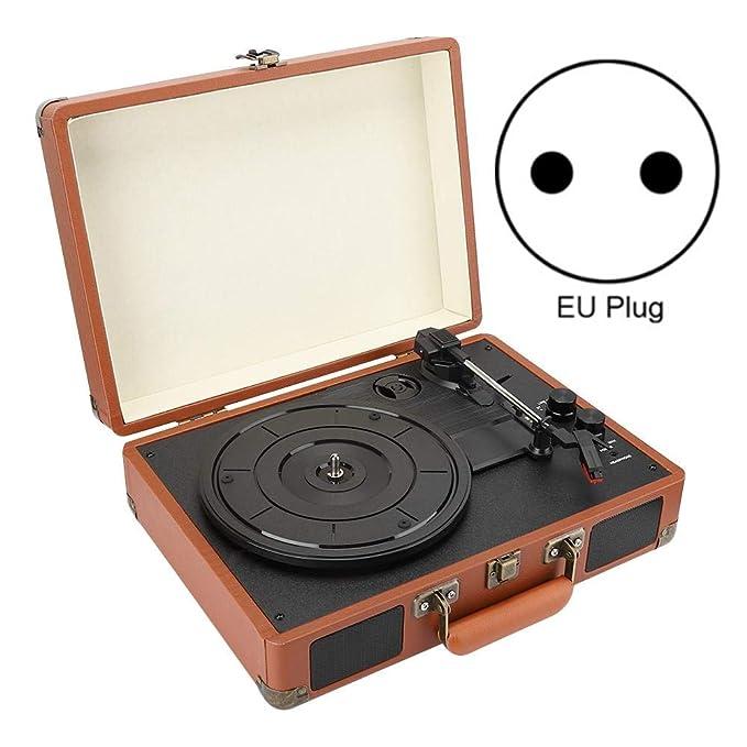 Reproductor de Discos de Vinilo Bluetooth,Reproductor de Discos de ...
