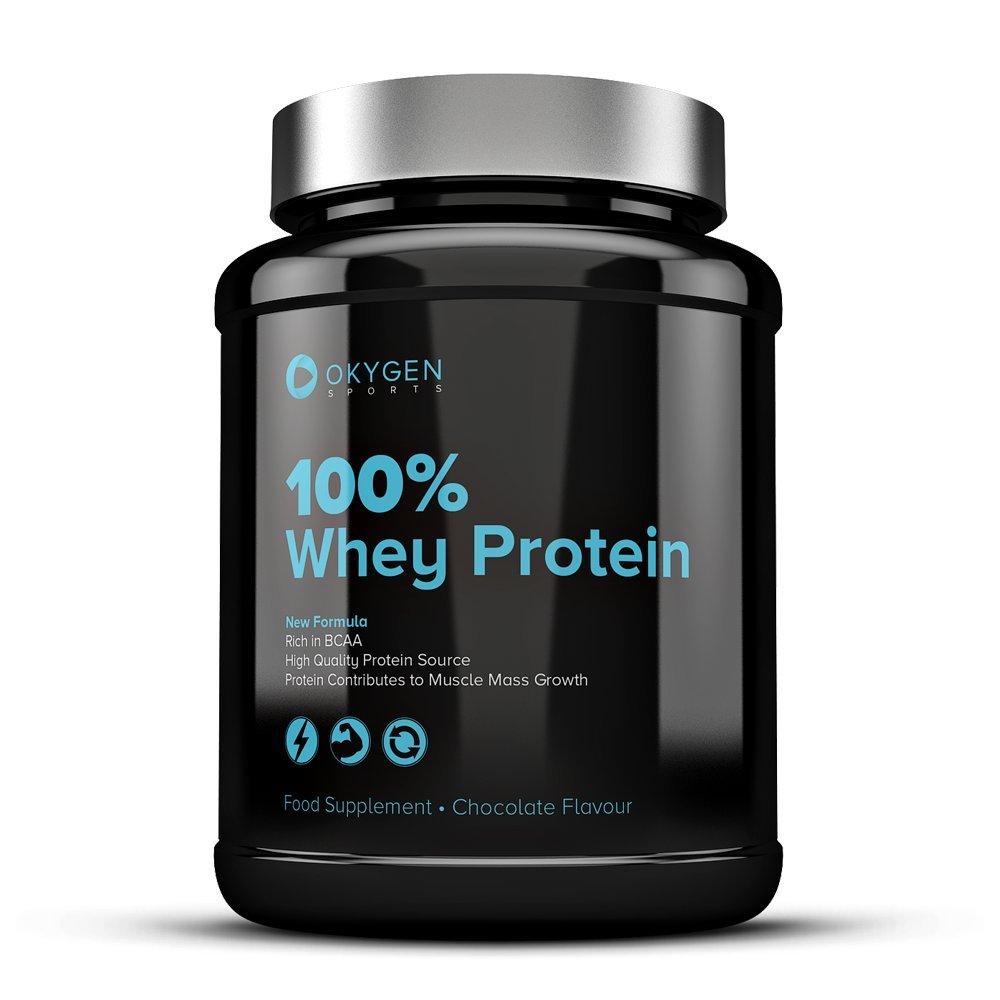 Okygen Sports 100% Whey Protein, Sabor Vainilla - 900 gr: Amazon.es: Salud y cuidado personal