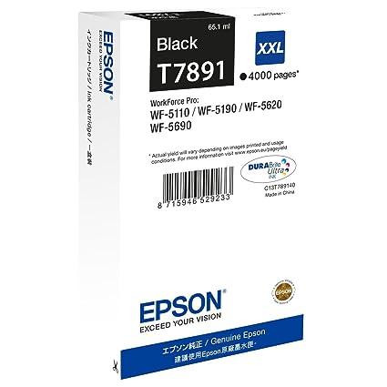 Epson T7891 - Cartucho de Tinta para impresoras (Negro ...