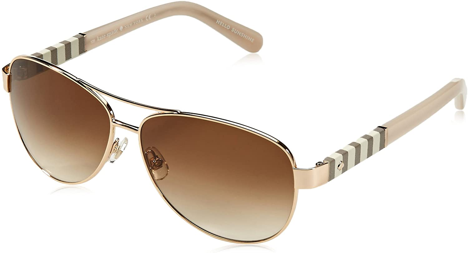 Kate Spade New York Women's Dalia Aviator Sunglasses