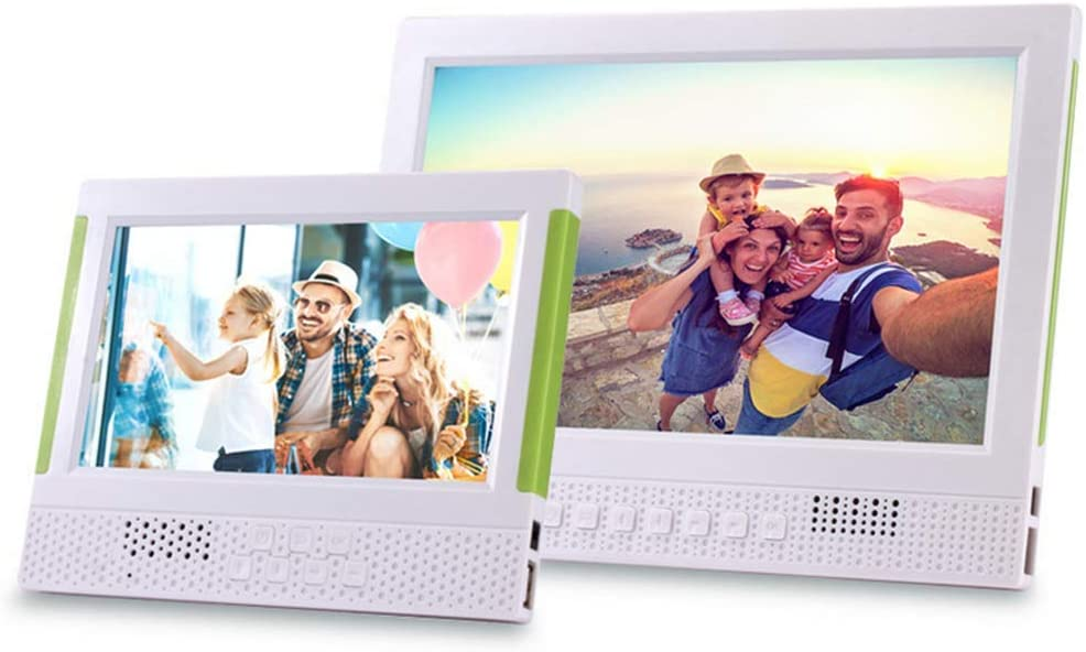 Digital Photo Frame Video Player with Motion Sensor Electronics Picture Frame 1024/×600//MP3//Calendar//Clock//Time,10inch Digital Picture Frame 7inch,10inch