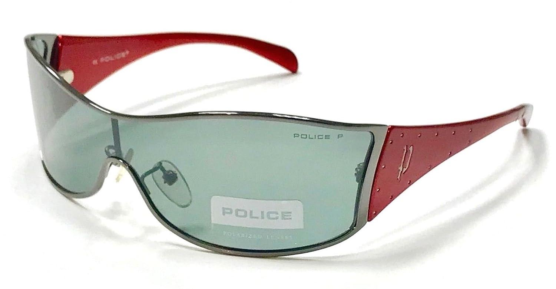 Police - Gafas de sol - para niño Rojo rojo Medium