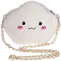 Gjyia Nette Karikatur Wolke Umhängetaschen Mode Mini Tasche Plüsch Spielzeug Mädchen Frauen Tasche Einheitsgröße