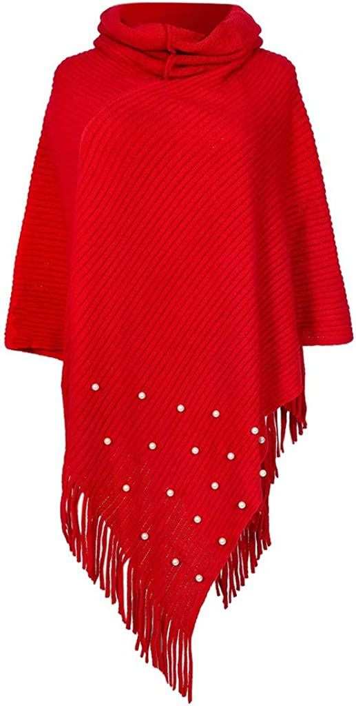 Kingwo Dress Ponchos High...
