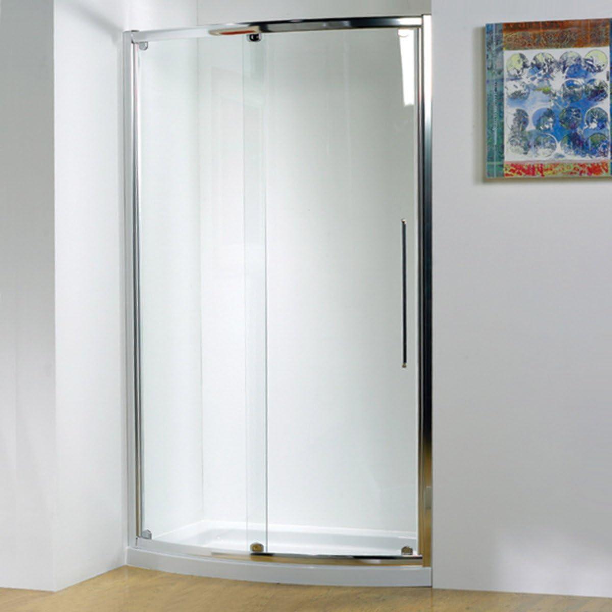 Kudos Original doblegado deslizante de ducha recinto 1500 con concepto 2 bandeja de ducha: Amazon.es: Hogar