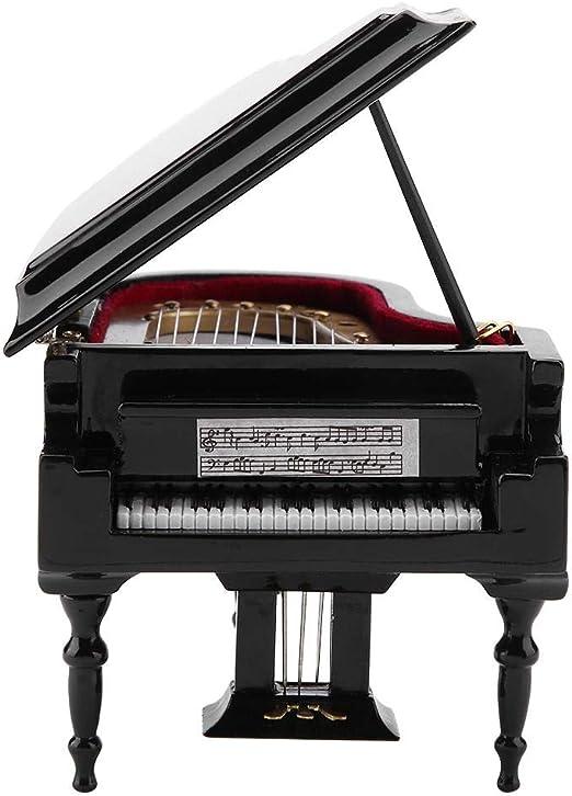 Amazon Com Mini Exquisite Handmade Wooden Piano Art Model