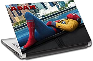 Spider Man Homecoming Personalized LAPTOP Skin Decal Vinyl Sticker ANY NAME L527, 12