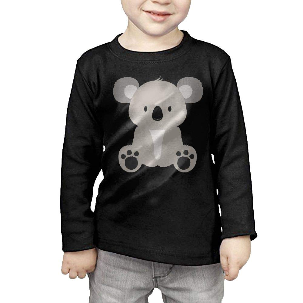 Newborn Kids Koala Bear Printed Long Sleeve 100/% Cotton Infants Tops