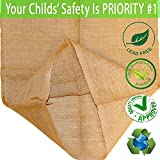 """ToysOpoly Premium Burlap Potato Sack Race Bags 24"""" x 40"""" (Pack of 6) - of Sturdy Rugged, 100% Natural Eco-Friendly Jute 