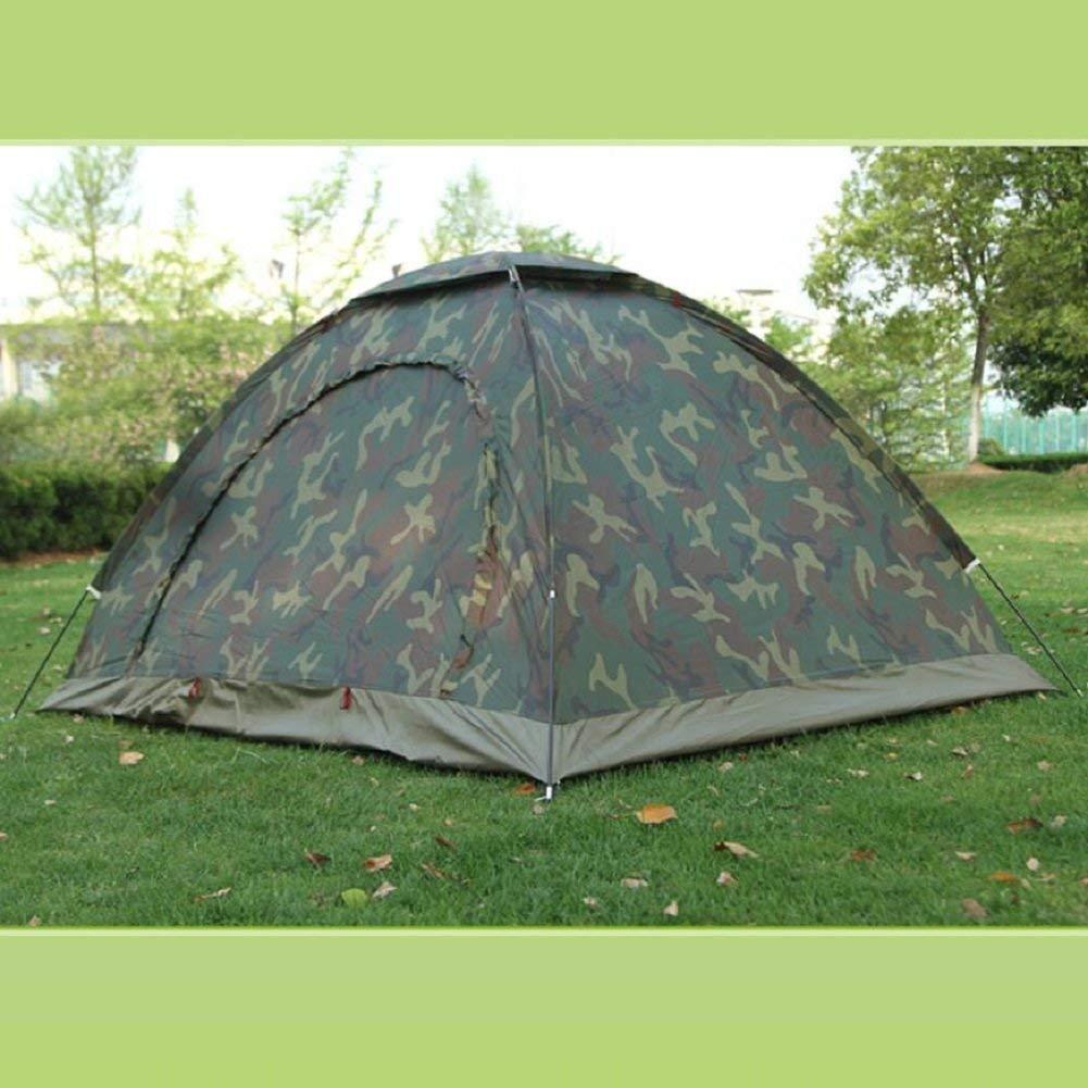 JIE Guo Outdoor Produkte Outdoor Paar Tarnung Zelte, Single Camping, Camping, Bergsteigen Zelte, Net Garn Anti-Mosquito, solide und langlebig, hochwertige Zelte