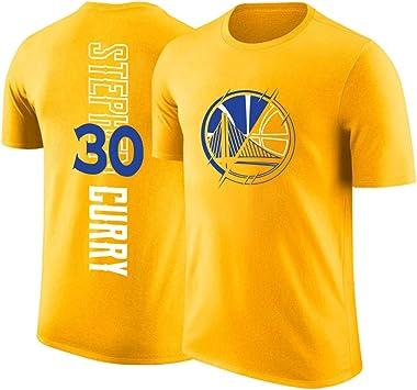 Summer Warrior Curry Durant Lakers James Camiseta de manga corta Cuello redondo Algodón Harden Camiseta de baloncesto: Amazon.es: Bricolaje y herramientas
