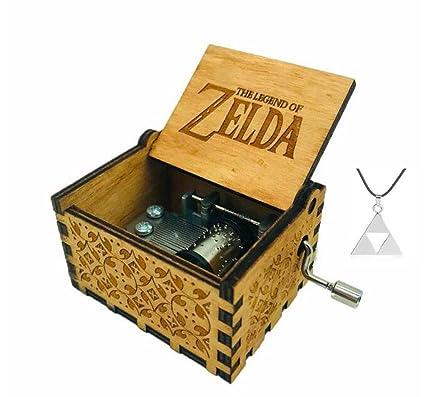 Cuzit The Legend of Zelda - Caja de Música, Diseño de la Película Antigua,