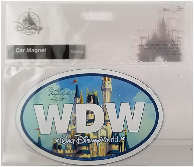 Disney Parks Most Magical Place on Earth Castle Magnet New A6