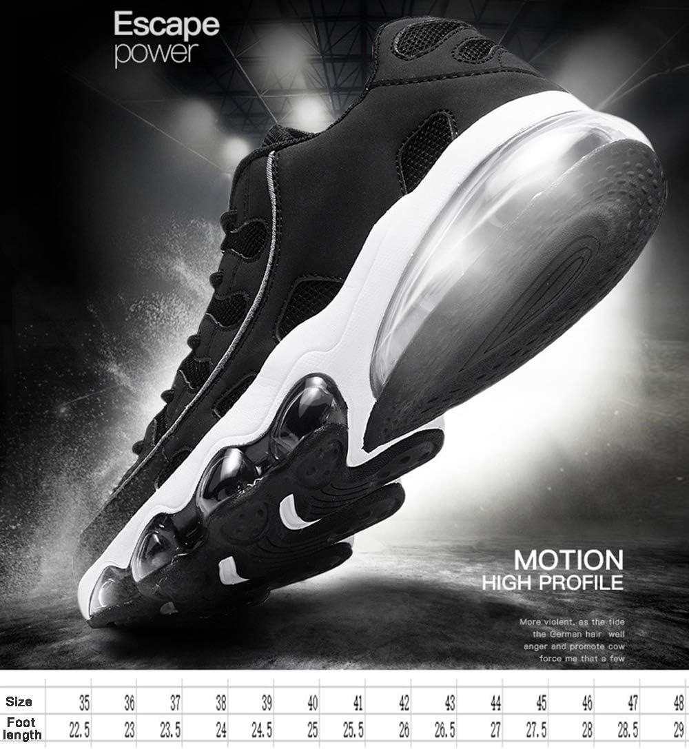 Chaussures De Basket-Ball De Mode pour Hommes Baskets De Course Respirantes À Lacets Chaussures De Sport De Mode, Taille 38-46 Red