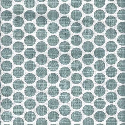 Close to Custom Linens Close To Custom Linens Gathered Bedskirt Paco Waterbury Polka Dot Spa Green Slub Cotton 22