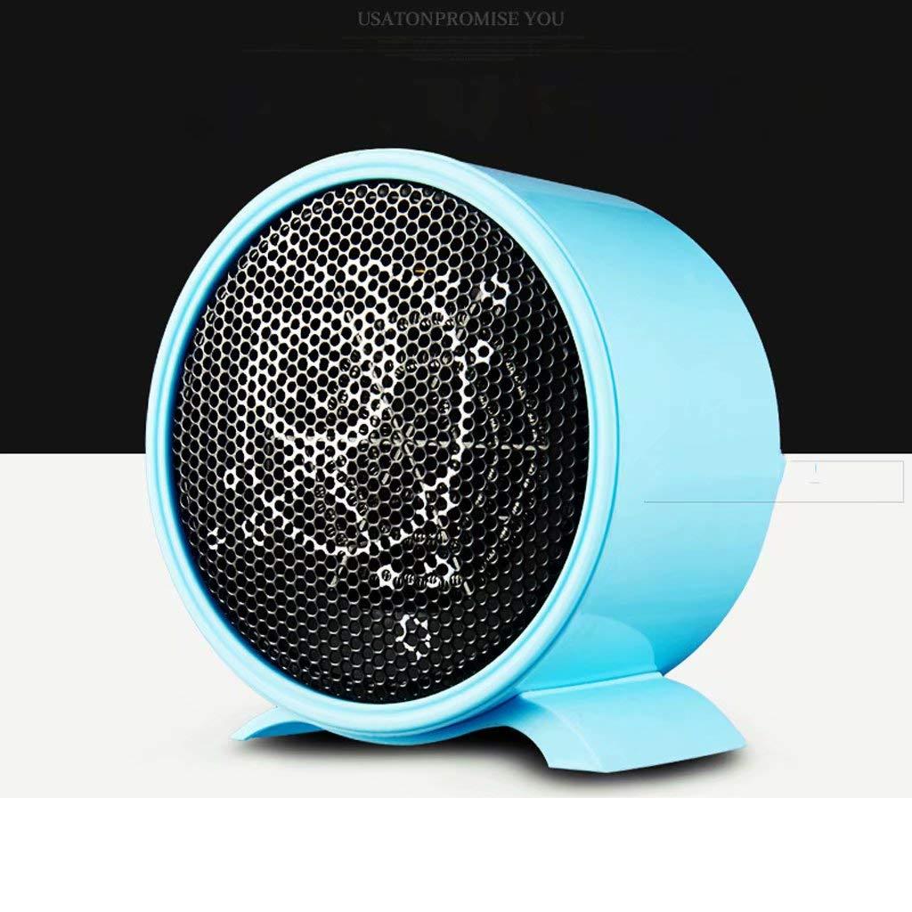 Mini calentadores Los calentadores pequeños sin radiantes energía cortarán automáticamente el calentador de energía radiantes cuando se coloquen al revés el calentador de escritorio / color azul (patrón de distribución aleat 728bce